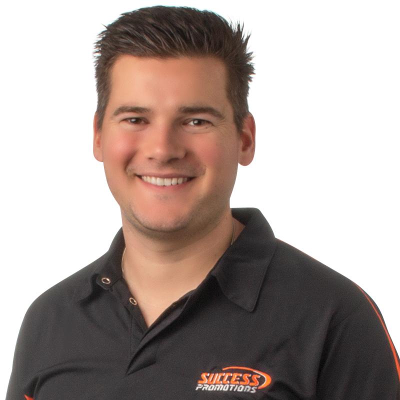 Brandon Everett, Sales Executive at Success Promotions