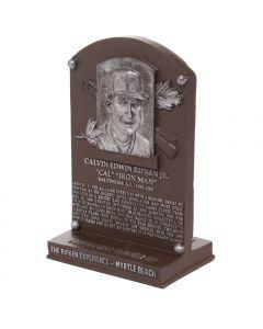 Replica Hall of Fame Plaque