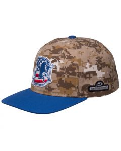 Camo Crown with Visor Accent