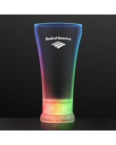 Multicolor LED Pilsner Glass