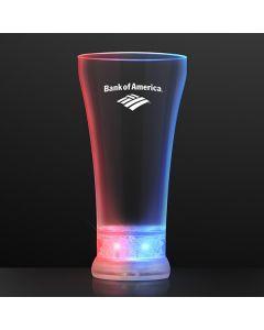 Red, White, & Blue Light Up Pilsner Glass