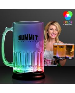 Light Up Flashing Tall Beer Mug