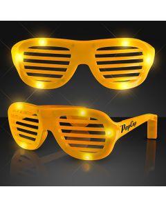 Light Up Slotted Sunglasses