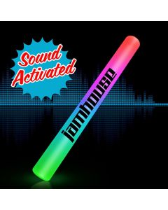 Sound Activated Light Up LED Cheer Stick