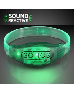 Sound Activated Light Up LED Flashing Bracelets