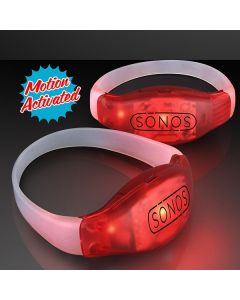 Light-up LED Motion Activated Bracelets