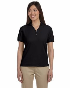 Ladies Pima Pique Short-Sleeve Polo