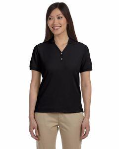 Ladies Pima Pique Short-Sleeve Polo
