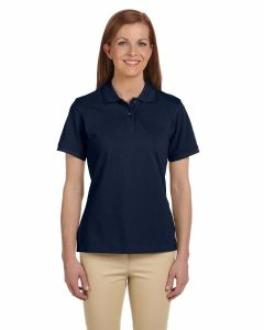 Ladies Ringspun Cotton Pique Short-Sleeve Polo
