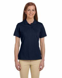 Ladies Ringspun Cotton Pique Short-Sleeve Polo