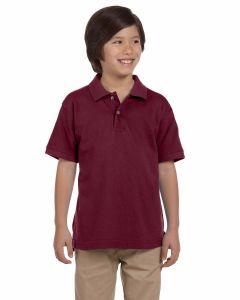 Youth Ringspun Cotton Pique Short-Sleeve Polo