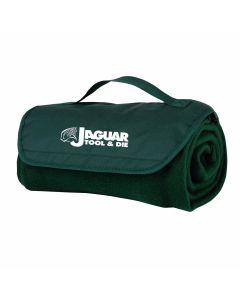Fleece Roll Up Blanket W/Handle