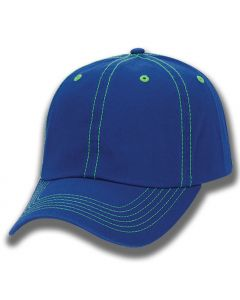 Two-Tone Garment Washed Cap