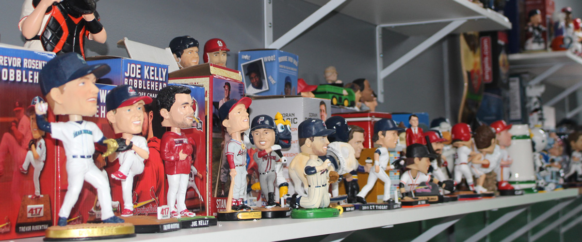Success Promotions bobbleheads, figures, and replicas!