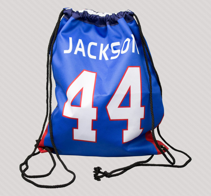 Success Promotions custom youth sports bags, backpacks, duffels, lunchboxes.