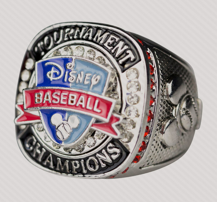 Success Promotions custom youth sports championship rings.