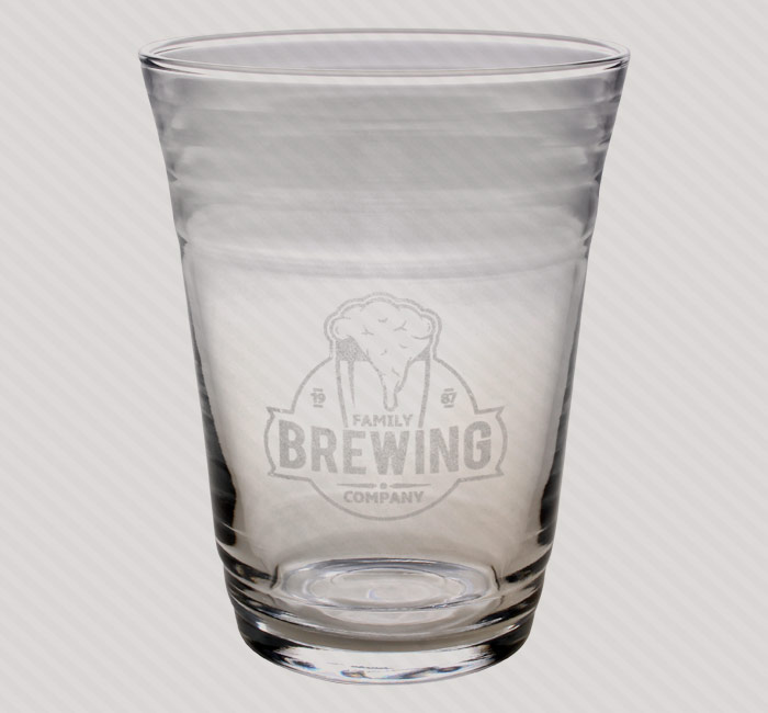 Success Promotions custom glassware for bar and nightclub.