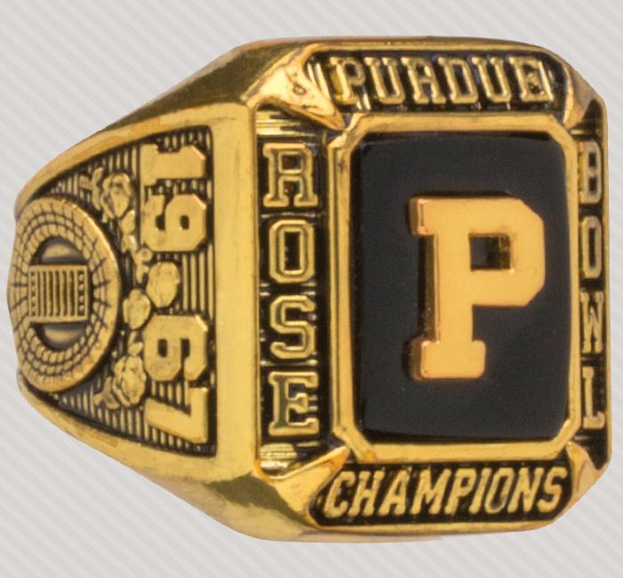 Rose Bowl Replica Ring.